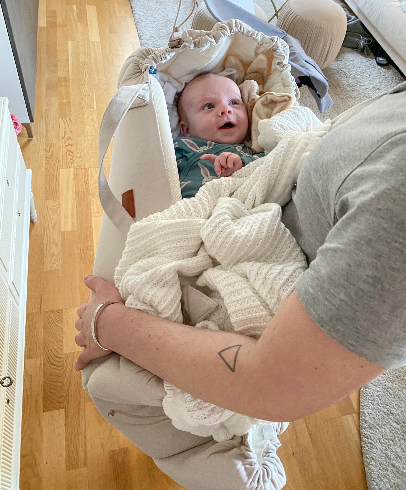 Najell sleepcarrier omdöme - babynest med handtag
